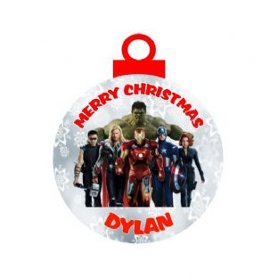 Avengers Acrylic Christmas Ornament Decoration